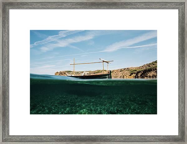 Boat V Framed Print