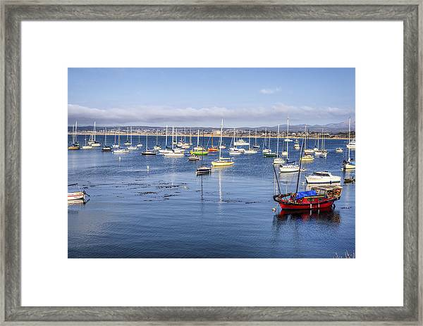 Colors Of Monterey Bay Framed Print