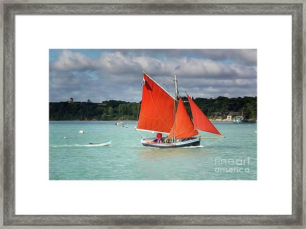 Boatshow 2 Framed Print