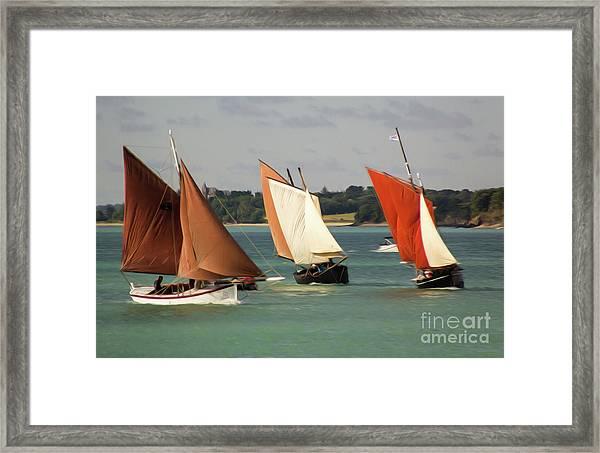 Boatshow 3 Framed Print