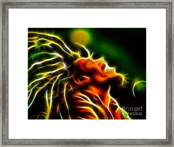 Bob Marley Framed Print by Pamela Johnson