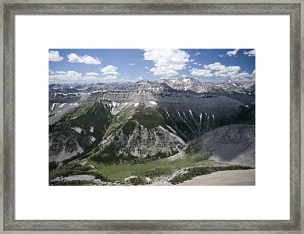 Bob Marshall Wilderness 2 Framed Print