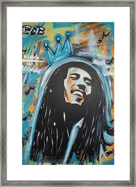 Bob The King Framed Print