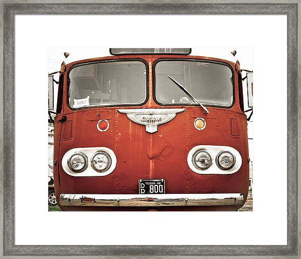 Bob Wills Bus Framed Print