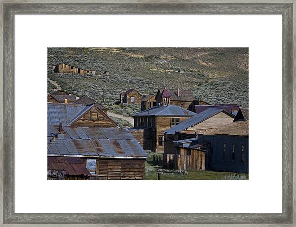Framed Print featuring the photograph Bodie 31 by Catherine Sobredo