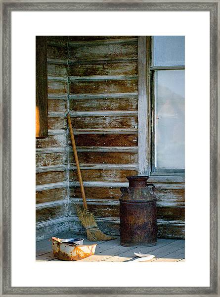 Framed Print featuring the photograph Bodie 41 by Catherine Sobredo