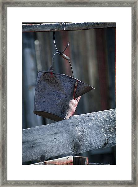 Framed Print featuring the photograph Bodie 42 by Catherine Sobredo