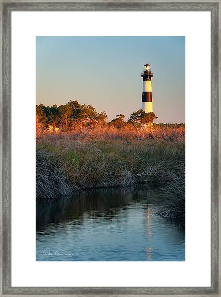 Bodie Island Light 2589 Framed Print
