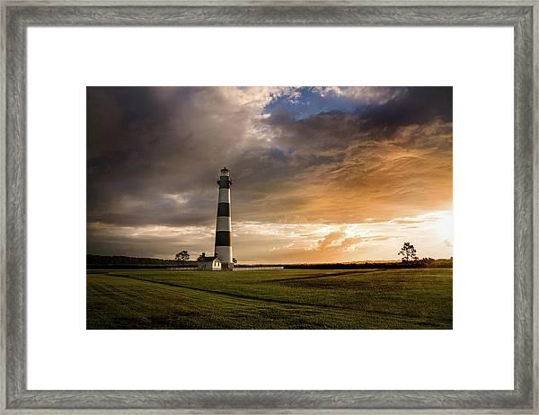Bodie Lighthous Landscape Framed Print