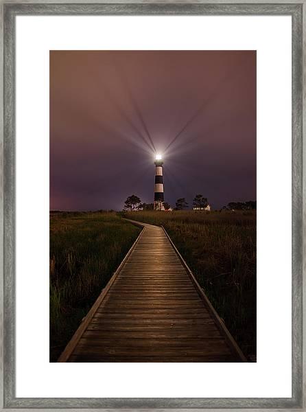 Bodie Lighthouse  Framed Print