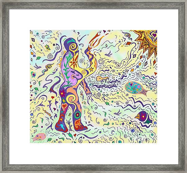 Bodies In Natural Flow Framed Print