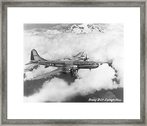 Boeing B-29 Superfortress Framed Print