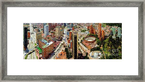 Bogota Colombia Framed Print