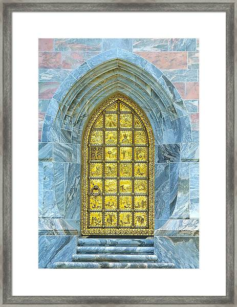 Bok Tower Entrance  Framed Print