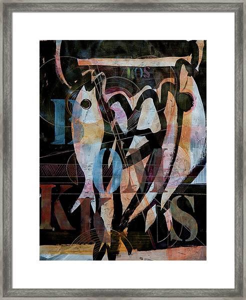 Bokkoms Framed Print