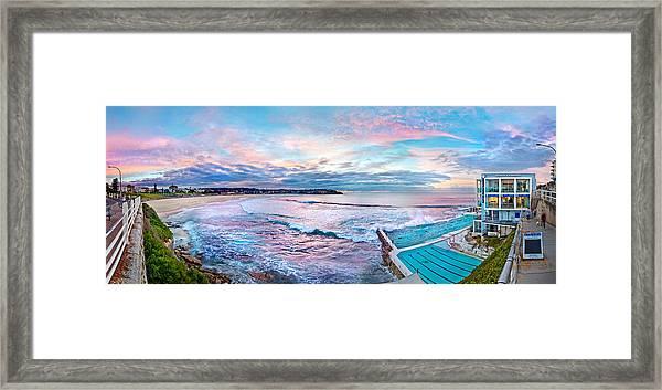 Bondi Beach Icebergs Framed Print