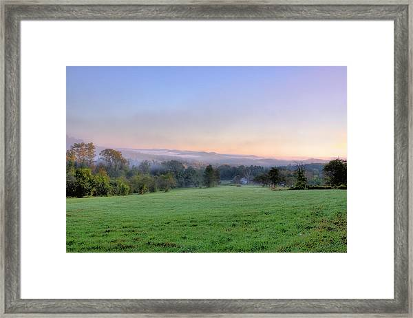 Bonnyvale Field Framed Print