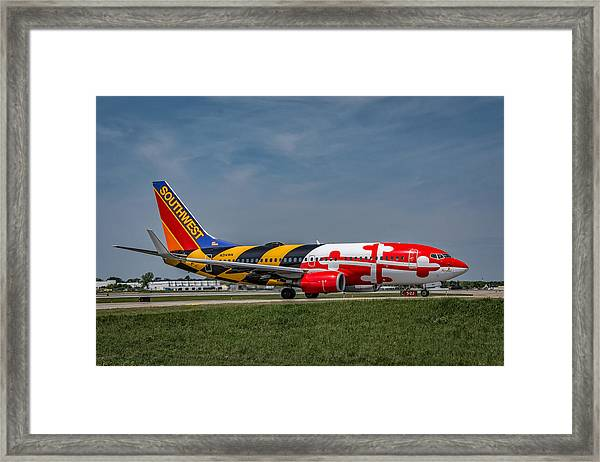 Boeing 737 Maryland Framed Print