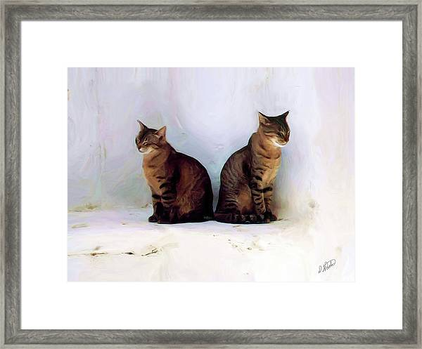 Bookends - Rdw250805 Framed Print