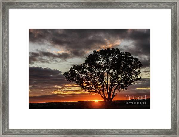 Boorowa Sunset Framed Print