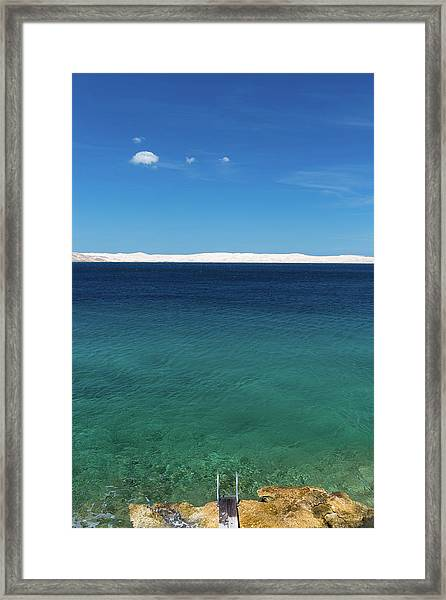 Bora In Velebit Kanal I Framed Print
