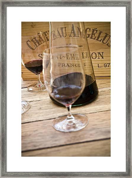 Bordeaux Wine Tasting Framed Print
