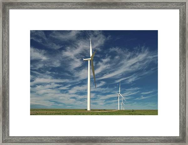 Borger Turbines Framed Print