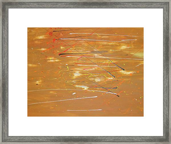 Framed Print featuring the painting Born Again by Michael Lucarelli
