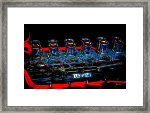 Born To Run Framed Print