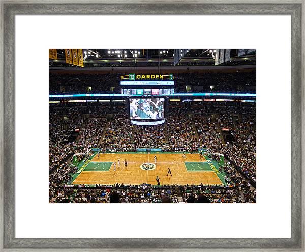 Boston Celtics Framed Print