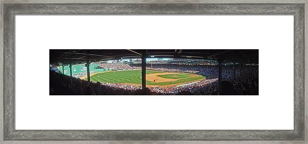 Boston Fenway Park Framed Print