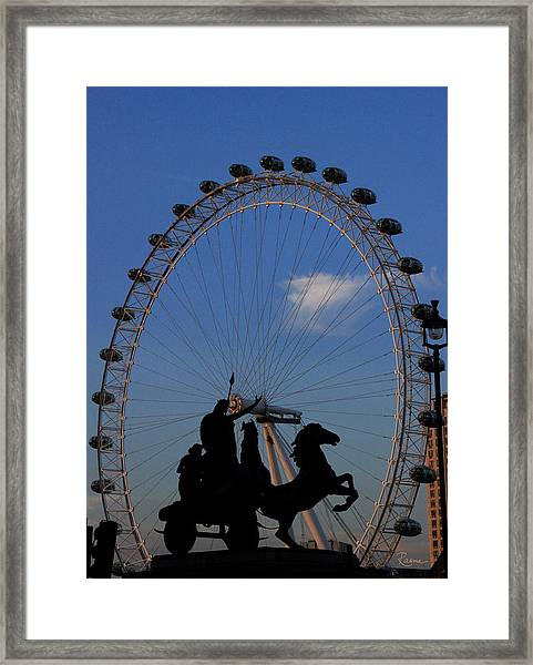 Boudicca's Eye Framed Print
