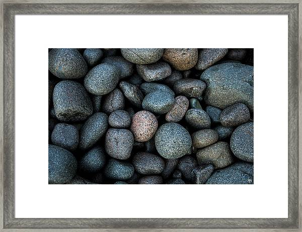 Boulder Beach Rocks Framed Print