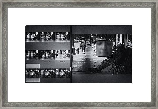 Boulevard Of Dreams  Framed Print