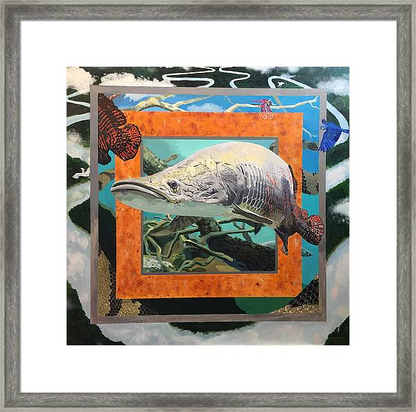 Boundary Series Xv Framed Print