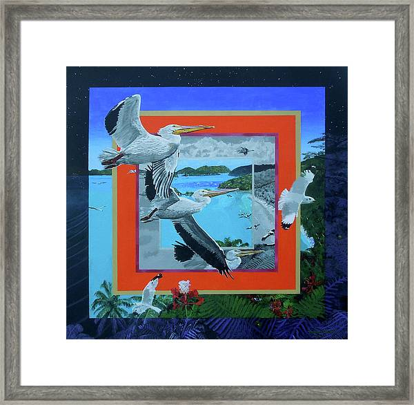 Boundary Series Xvii Framed Print