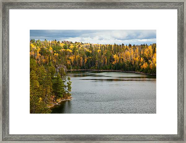 Boundary Waters Overlook Framed Print