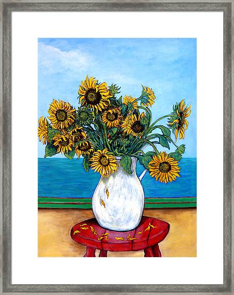 Bouquet Of Beauty Framed Print