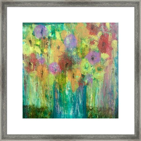 Bouquet Of Understanding Framed Print