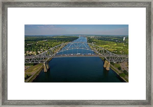 Bourne Bridge, Ma Framed Print