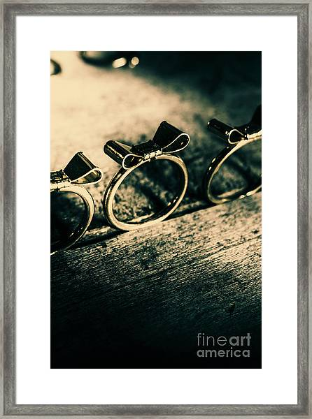 Bow Tie Event Framed Print