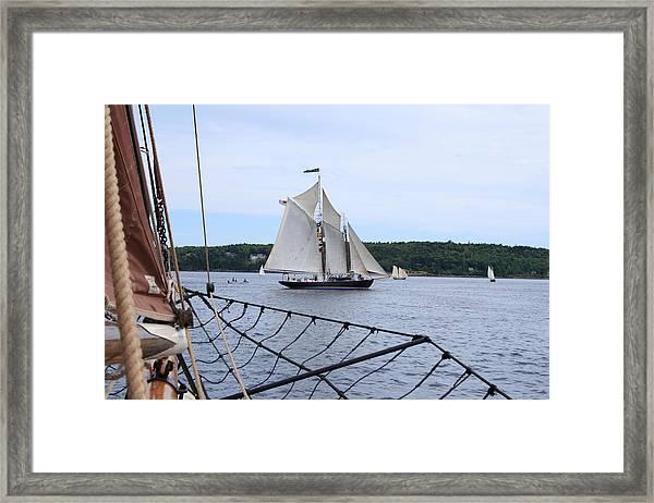Bowditch Under Full Sail Framed Print