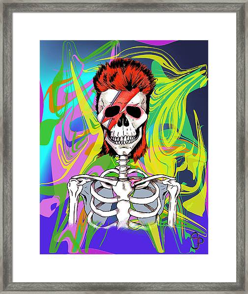 Bowie 1 Framed Print