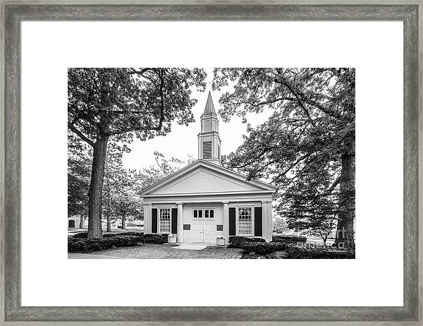 Bowling Green State University Prout Chapel Framed Print