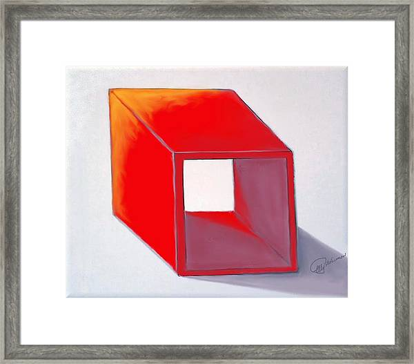 BOX Framed Print