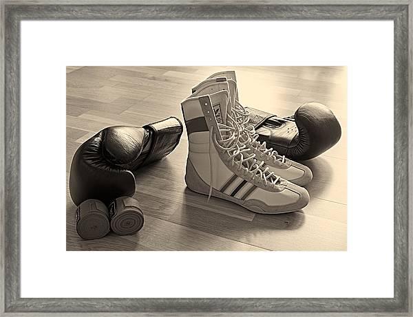 Boxing Framed Print
