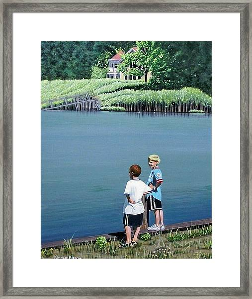 Boys Of Summer Framed Print