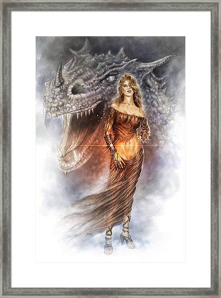 Bracelet Of Power Framed Print