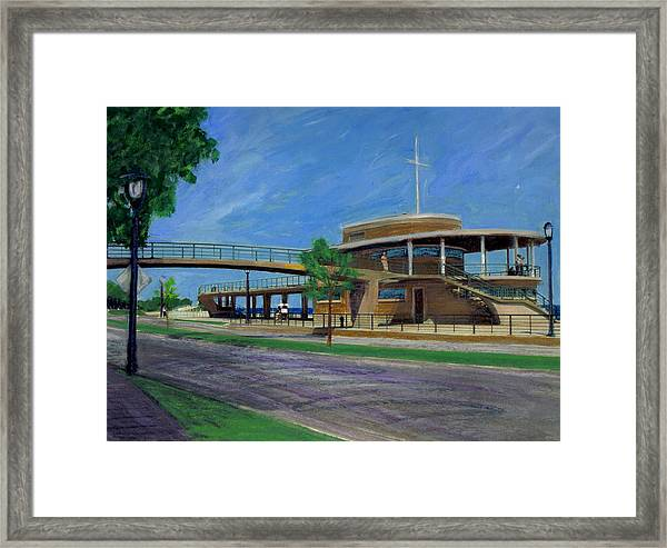 Bradford Beach House Framed Print