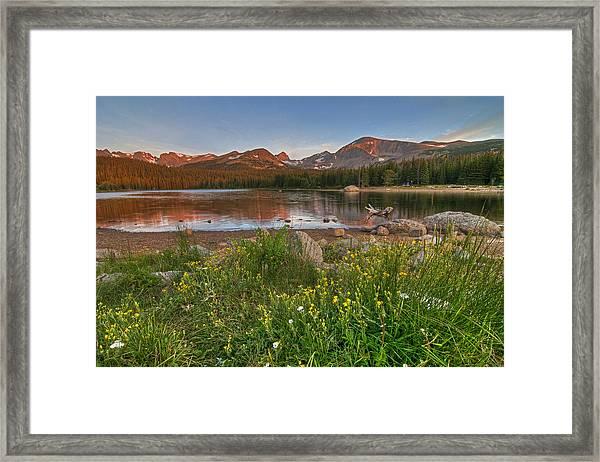 Brainard Lake Framed Print